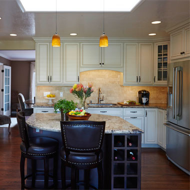 Transitional Los Altos Kitchen