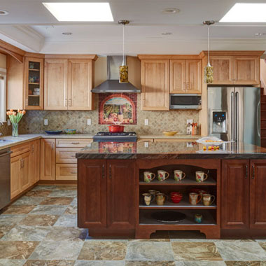 Warm & Traditional Cupertino Kitchen