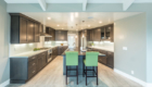 NorCal beach house kitchen