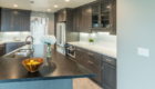 NorCal beach house kitchen