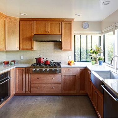 Lovely Los Altos Kitchen