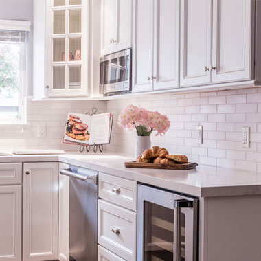 Whimsical White Kitchen