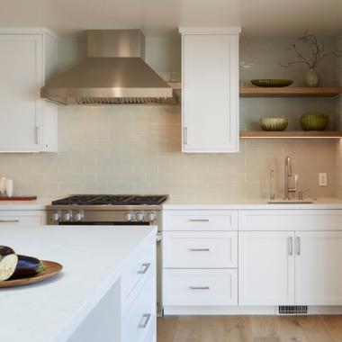 Contemporary Cupertino Minimal Kitchen